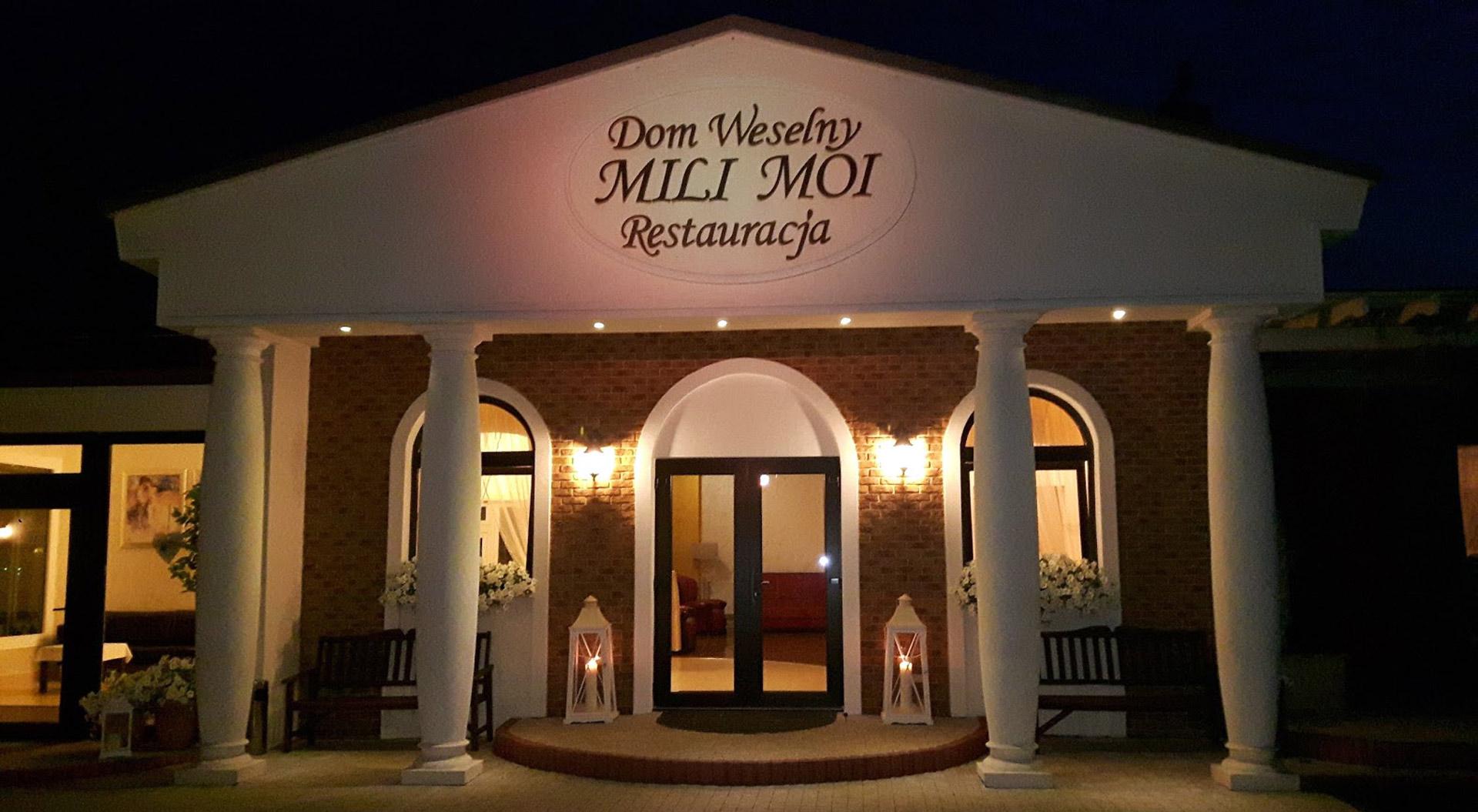 Mili Moi - Restauracja - Dom Weselny